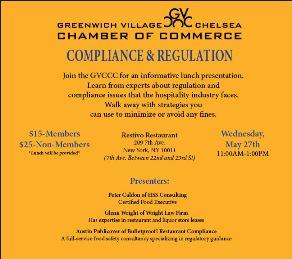 Restaurant Compliance Event